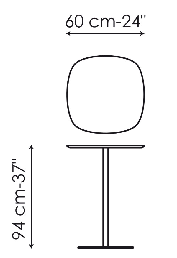 Tavolino bonaldo modello clyde arredare moderno for Piani domestici contempory