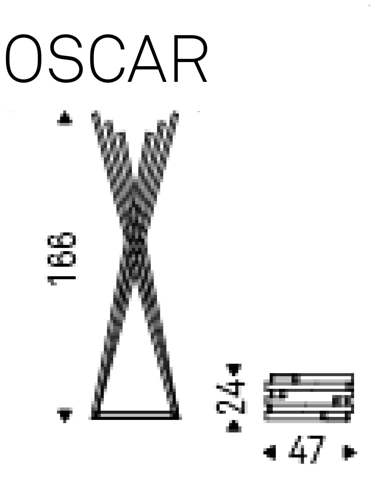 Appendiabiti Oscar Cattelan Italia dimensioni