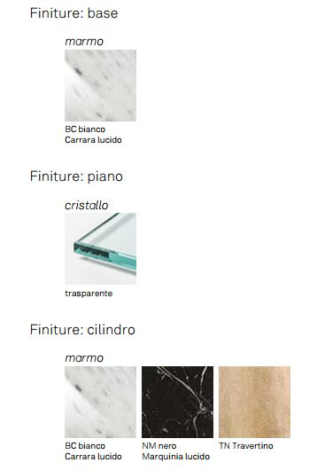Consolle Viola d'amore Cattelan Italia finiture e colori