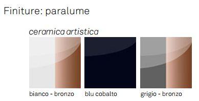 Lampada Asia Cattelan Italia finiture e colori