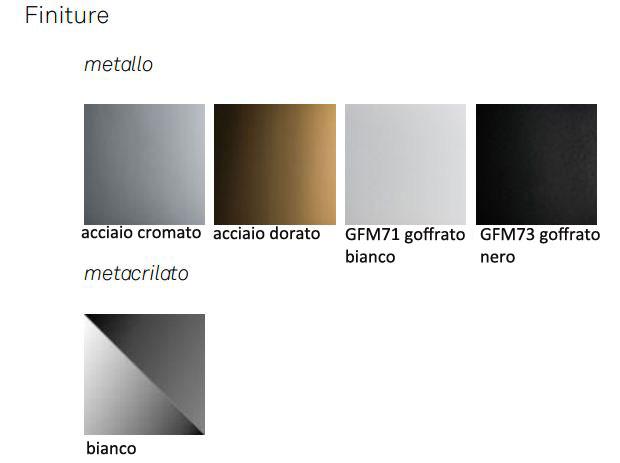 Lampada Calimero Cattelan Italia finiture e colori