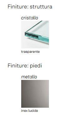 Vetrina Open Wind Cattelan Italia finiture e colori