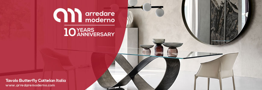 tavolo in vetro Cattelan Italia