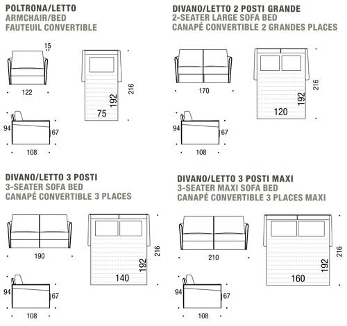 Dimensioni Divano 2 Posti.Misure Divani 2 Posti Divani Due Posti Poltrone E Sofa Download By