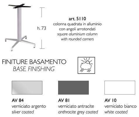 Misure Tavolini Bar.Tavolino Bar Maxi Domino Scab Fisso H 75 Con Piano Stratificato Compact