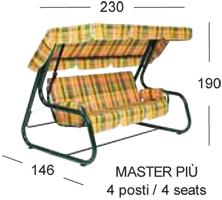 misure master più scab design dondolo