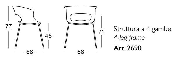 misure scab design miss b antishock 2690
