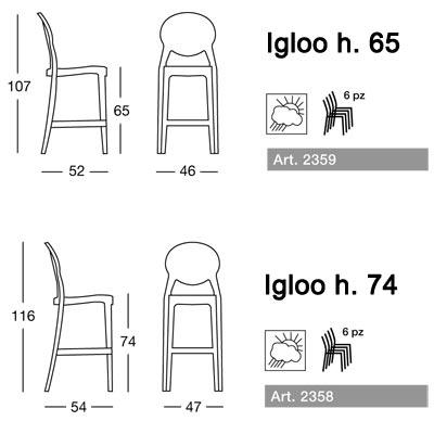 igloo scab design misure