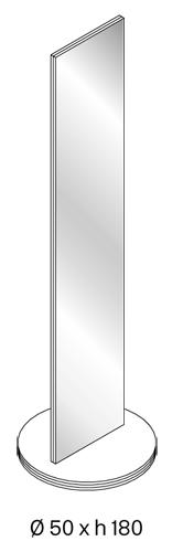 soglia tonelli design specchio misure