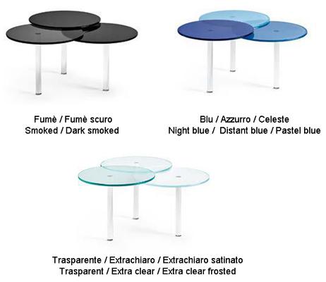 tavolino tonelli design lenses finiture
