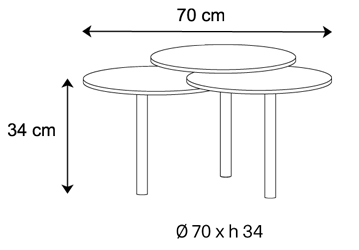 tavolino tonelli design lenses misure