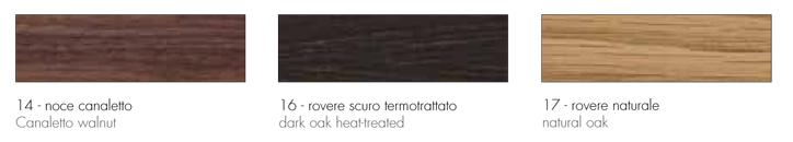 wood tonin casa appendiabiti finiture struttura
